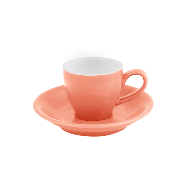 Bevande Intorno Espresso Cup 75ml Apricot (Light orange)