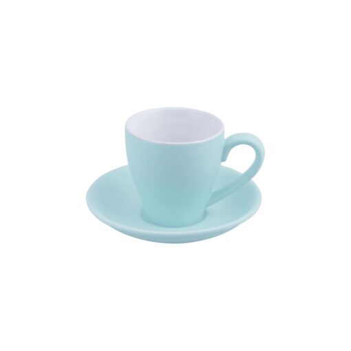 Bevande Cono Cappuccino Cup 200ml Mist (Light Blue)