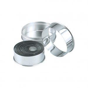 Chef-Inox-Cutter-Set-Bakery-Round-Plain-11pc-25mm-95mm-01957