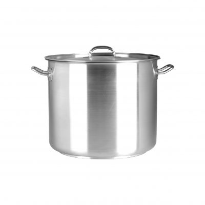 Chef-Inox-Elite-Stock-Pot-With-Cover-S/S-98Ltr 500x500mm-70446