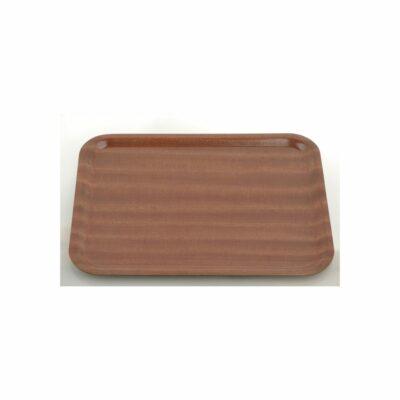Chef-Inox-Service-Tray-Laminated-Mahogany-Rectangular-270-x-200mm-04246