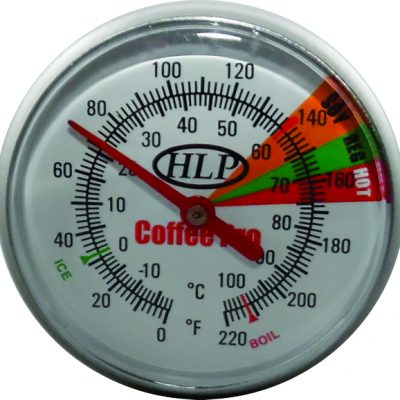 Coffee-Pro-210mm-Milk-Frothing-or-Food-Heating-with-Long-Probe-Thermometer-with-Clip-marked-for-SOY-Coffee-Pro