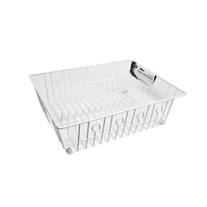 Dish-Drying-Rack-Plastic-Wire-46-x-38-x-15cm-DL4562