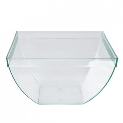 Disposable-Square-Bulged-Dish-Clear-580ml-55mmx120mmx70mm-25pcs-47015