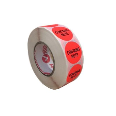 FSL-Contains-Nuts-24mm-Removable-Food-Advisory-Sticker-Roll-of-1000-FAL1R