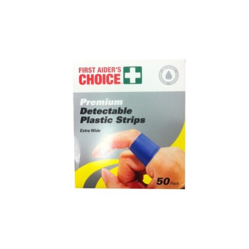 First-Aiders-Choice-Blue-Detect-Plastic-Strips-PK50-69040