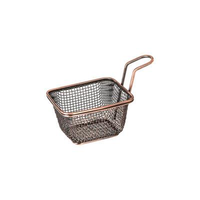 Moda-Brooklyn-Service-Baskets-Rectangular-Antique-Copper-100x90x65mm-73710-AC