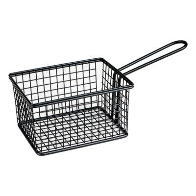 Moda-Service-Basket-Square-Rectangular-Matt-Black-248x114x80-73824-BK