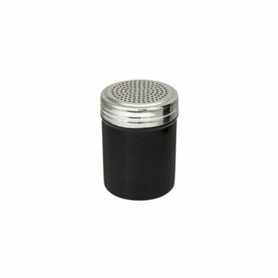 Salt Dredger 18/8 Stainless Steel Black Body 285ml-48005-BK