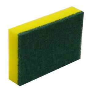 Scourer-Sponge-Commercial-Green-&-Yellow-150-x-100mm-NBSS