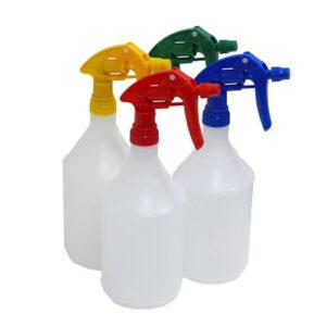Spray Bottle 1Litre Red Nozzle-NB71-R