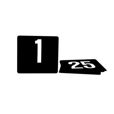 Table-Number-Set-Plastic-Lrg-White-on-Black-1-50-70256