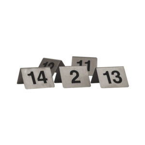 Table-Number-Set-S/Steel-A-Frame-1-10-57810