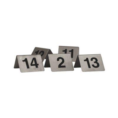 Table-Number-Set-S/Steel-A-Frame-1-10-57810