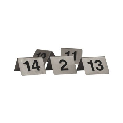 Table-Number-Set-S/Steel-A-Frame-21-30-57830