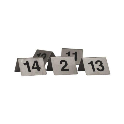 Table-Number-Set-S/Steel-A-Frame-31-40-57840