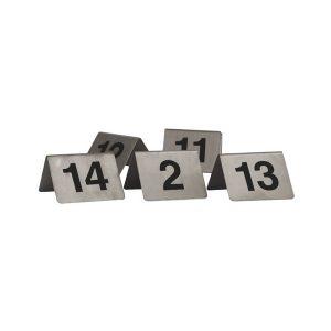 Table-Number-Set-S/Steel-A-Frame-81-90-57890