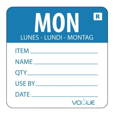 Vogue-Removable-Day-of-the-Week-Label-Monday-Blue---500-per-Roll-DL066