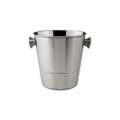 Wine-Bucket-Stainless-Steel-Satin-Finish-Tulip-200mmH-x-215mmD-70892
