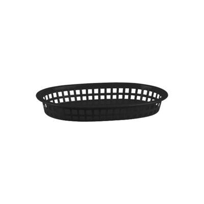 Bread-Basket-Rectangular-Polypropylene-Black-270x180x40mm
