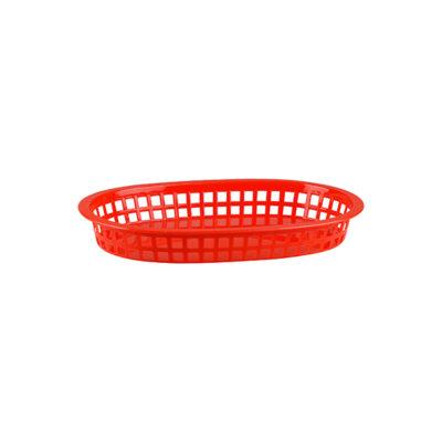 Bread-Basket-Rectangular-Polypropylene-Red-270x180x40mm