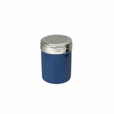 Salt-Dredger-18/8-Stainless-Steel-Blue-Body-285ml-48005-BL