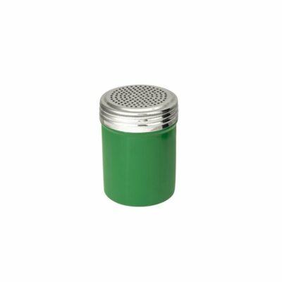 Salt-Dredger-18/8-Stainless-Steel-Green-Body-285ml-48005-GN
