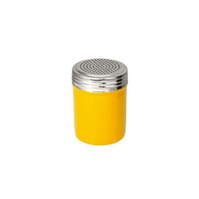 Salt-Dredger-18/8-Stainless-Steel-Yellow-Body-285ml-48005-Y