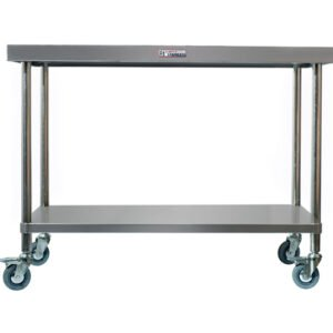 Stainless Steel Mobile Work Benches