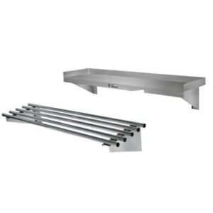 Stainless Steel Wall Shelving