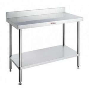 Stainless Steel Work Benches with Splashback