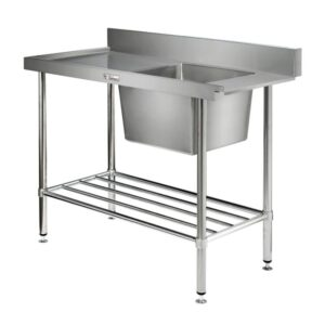 Stainless Steel Dishwasher Inlet Benches
